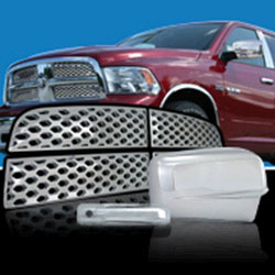 09-13 Ram Chrome Trim Package