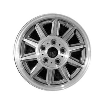 Aluminum Alloy Wheel, Rim 15x6 - 70158
