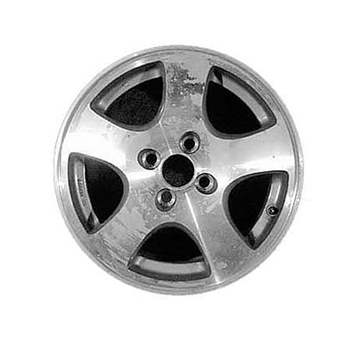 Aluminum Alloy Wheel, Rim 15x6 - 71660