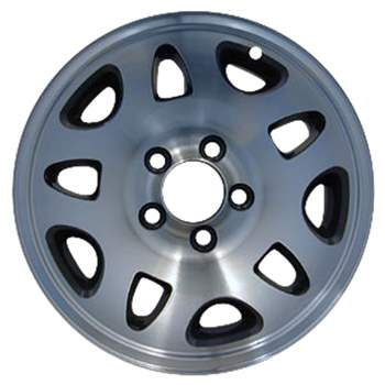 Aluminum Alloy Wheel, Rim 15x7 - 64811