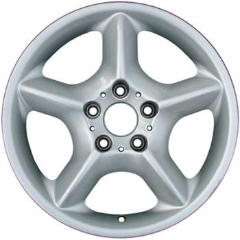 Aluminum Wheel, Rim 17x7.5 - 59331 - Set of 4