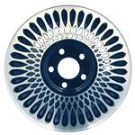 Aluminum Alloy Wheel, Rim 15x6 - 1646