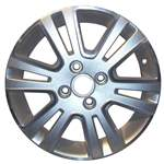 Aluminum Alloy Wheel, Rim 16x6 - 3703
