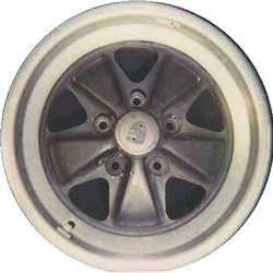 Aluminum Alloy Wheel, Rim 16x8 - 99168